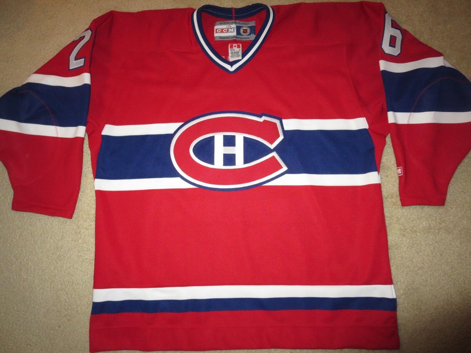Montreal Canadians  26 NHL Ccm Ccm Ccm Hockey Cosidos Camiseta para Lg c69288