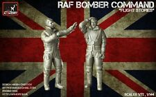 Armory ARF7224a 1/72  Resin WWII RAF Crewmen in High Altitude Outfits (2 figs)