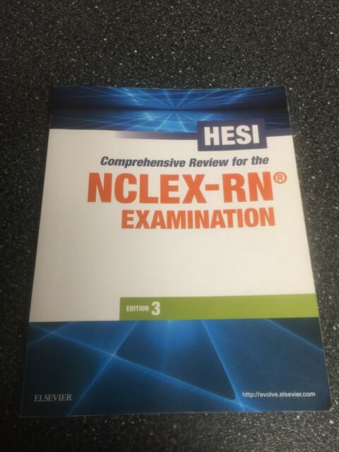 HESI Comprehensive Review For The NCLEX RN Examination By HESI Staff 2010 Paperback