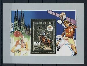 GUINEA-1992-S-Sheet-GOLD-MNH-Olympic-Games-Barcelona-Mi-No-BL418