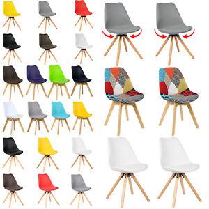 Das Bild Wird Geladen 2 X Esszimmerstuehle Esszimmerstuhl Holz Design Stuhl  Kuechenstuhl