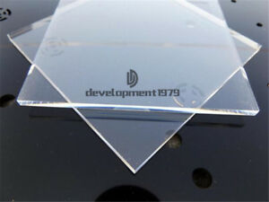 5pcs 200x200x1mm Clear Acrylic Plexiglass Sheet Plastic Panel PMMA Plate