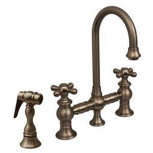 bridge faucet ii vintage whitehaus
