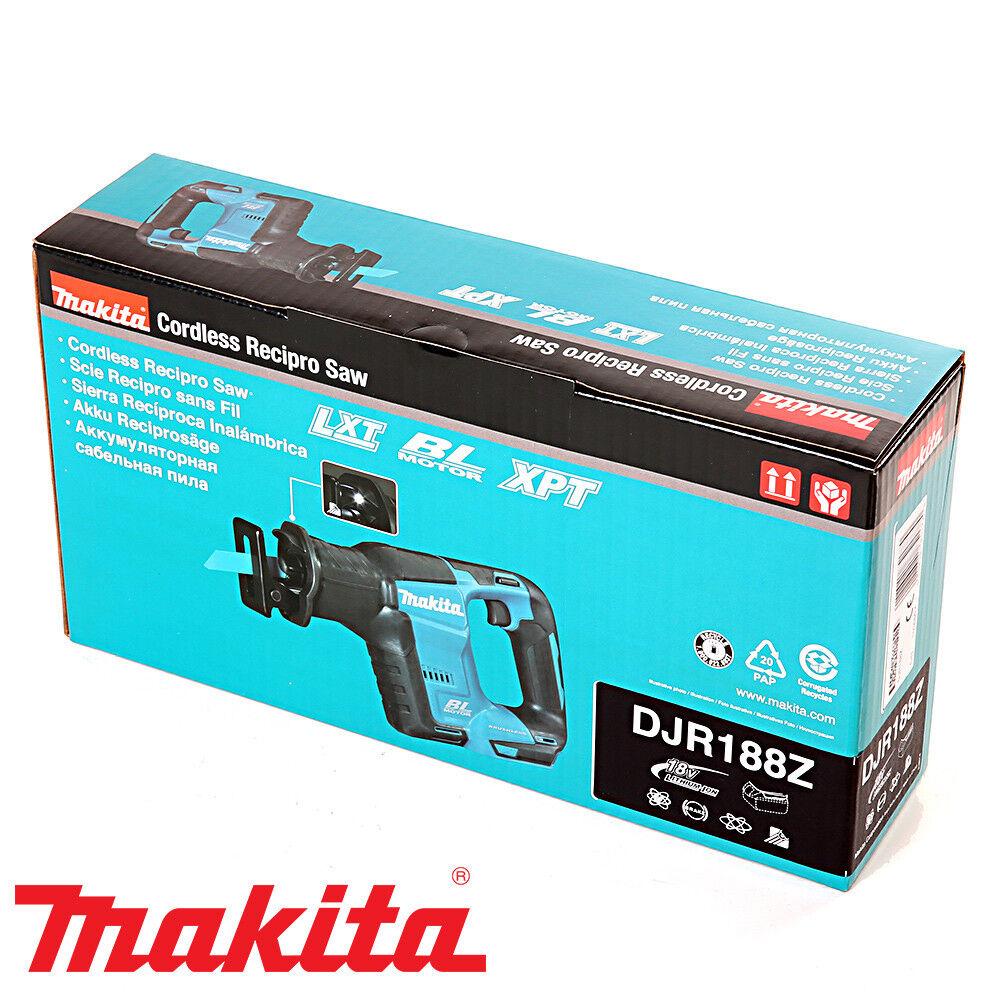Makita DJR188Z 18 V sin escobillas Sierra Vaivén De Vaivén Sierra + 1 X 5Ah Batería, Cargador Y Estuche 43fa4b