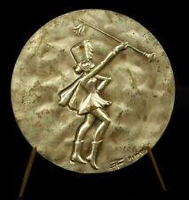 Médaille Majorette cheerleader Pom-pom girl meneuse de claque 50mm Brimeur Medal