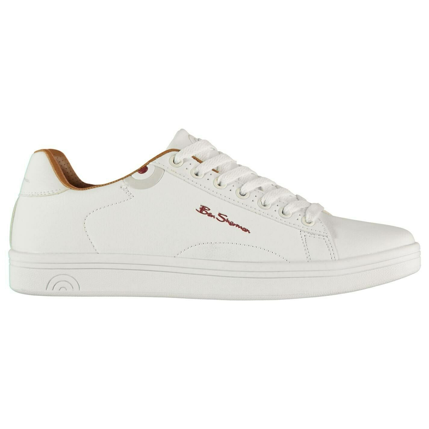 Ben Sherman Mens Storm Trainers Sports schuhe Low Lace Up Padded Ankle Collar