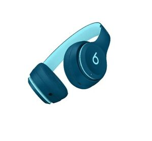 Beats By Dr Dre Solo3 Wireless Pop Blue Beats Pop Collection On Ear Headphones 190198742094 Ebay