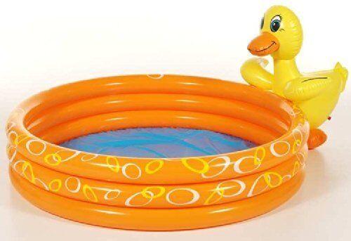 Kinder Planschbecken mit Ente Pool Kinderpool Swimmingpool Schwimmbecken