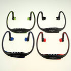 New Trendy USB Ear loop Headphones Earphone FM Sport MP3 Music Player W/ TF Slot