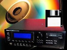 Sounds Roland sampler S 750 770 DJ-70 S770 S750 S550 S50 DJ70 w30 s330 S760 330