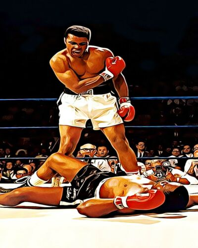 The Greatest Muhammad Ali 7a Van-Go Paint-By-Number Kit