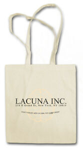 LACUNA INC. STOFFTASCHE Eternal Sunshine of the Logo Firma Spotless Mind