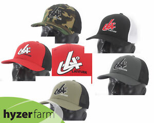 3abf13b8ea2 LATITUDE 64 MESHBACK FLEX FIT HAT  pick size and color  Hyzer Farm ...