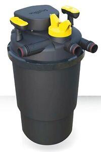 Filtro per laghetto askoll pressure flo 3000 con lampada for Filtro per stagno