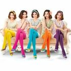#CA 80 Den Choose One Color Girls Colorful Fresh Pantyhose Hosiery Tights
