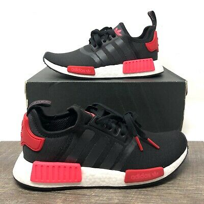 Details about Adidas NMD_R1 Boost Black Scarlet / Flash Red Running EH0206 - Women's Size 6-10