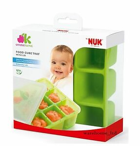Annabel-Karmel-by-NUK-Food-Cube-Tray-Perfect-for-Baby-Weaning-Food-Freeze-Green