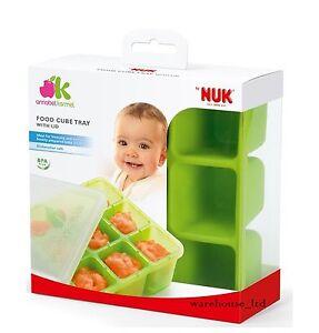 Annabel Karmel 6 Cube Baby Food Feeding Nuk Stackable Weaning Pots