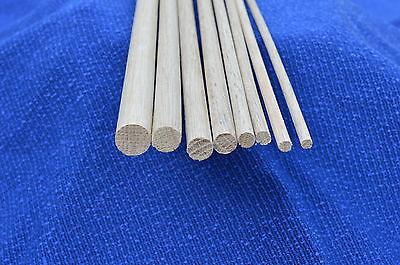 Appena Oak In Legno Tecnica Tassello Rod 6,7,8,9,12,12.7,15,18mm Diametro X 300mm Legno Doweling-7,15,18mm Diameters X 300mm Wood Doweling It-it Mostra Il Titolo Originale Prezzo Basso