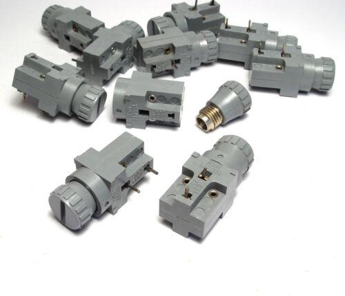 10x Rafi Sicherungshalter Printmontage Halter 5x20 mm Feinsicherung 1.47004