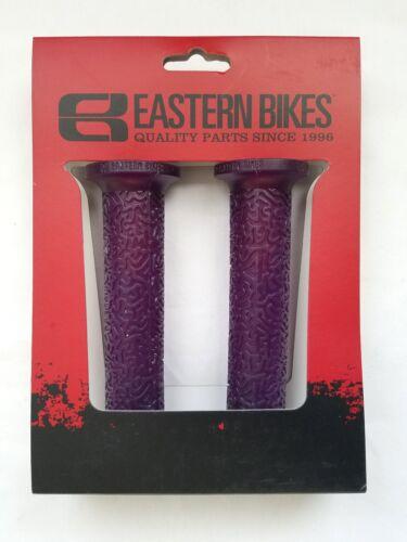 New Eastern Bike BMX Freestyle Coral Grip White Transparent Purple