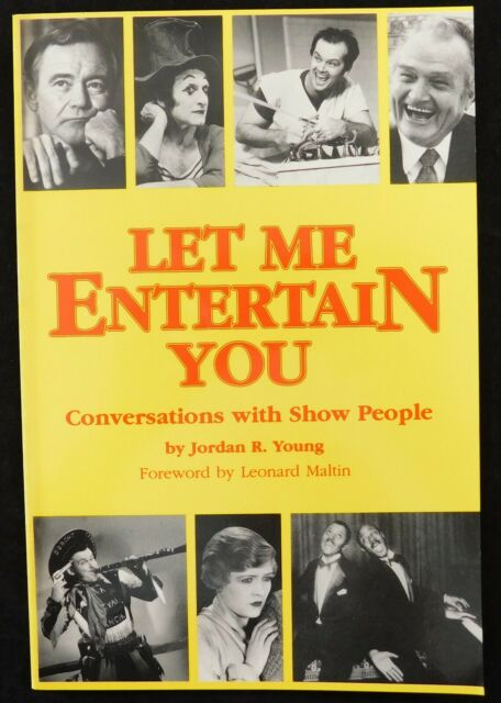 Let Me Entertain You 1988 Vintage Paperback Book (By Jordan R. Young)