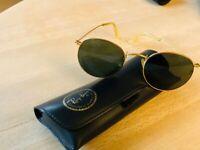 Solbriller herre, B&I Ray ban W0607, Vintage B&l