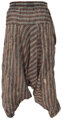 Pantalon Harem Été Aladdin À Coton Hippie Rayures Décontracté Homme Léger Délavé A1OwUtv