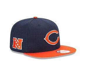 New-Era-950-CHICAGO-BEARS-Baycik-Team-Snapback-Cap-NFL-Adjustable-Hat-9Fifty-M-L