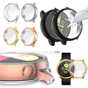 Protective-Watch-TPU-Case-Screen-Cover-Film-For-Samsung-Galaxy-Watch-Active