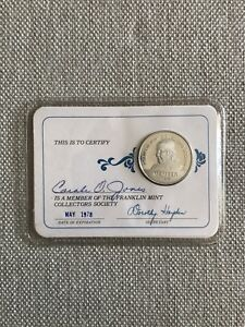franklin mint collectors society coin 1977