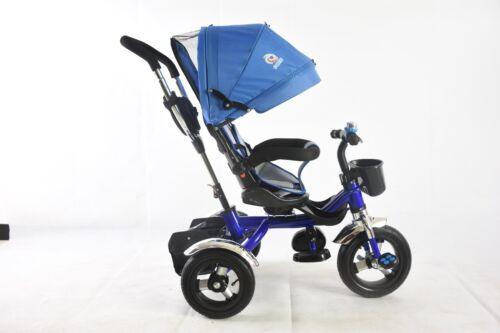 4 in1 Kids Children Baby Trike Tricycle Stroller Buggy 3 Wheeler Push Rain Cover