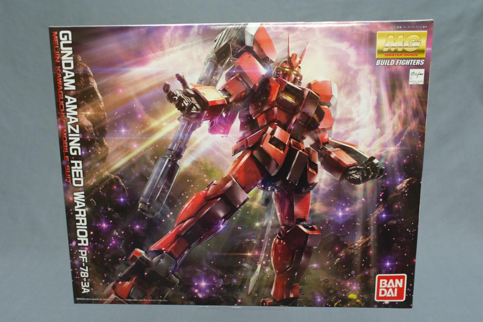 MG 1 100 Gundam Amazing Red Warrior Plastic Model Kit Bandai Japan New