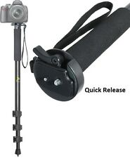 "Heavy Duty 72"" Monopod With Quick Release For Canon Sony Panasonic Nikon Samsung"