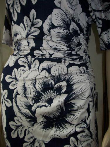 PHASE EIGHT Vita Kimono Stone Blue Jersey Ruched Pencil Dress Size 8  RRP £79
