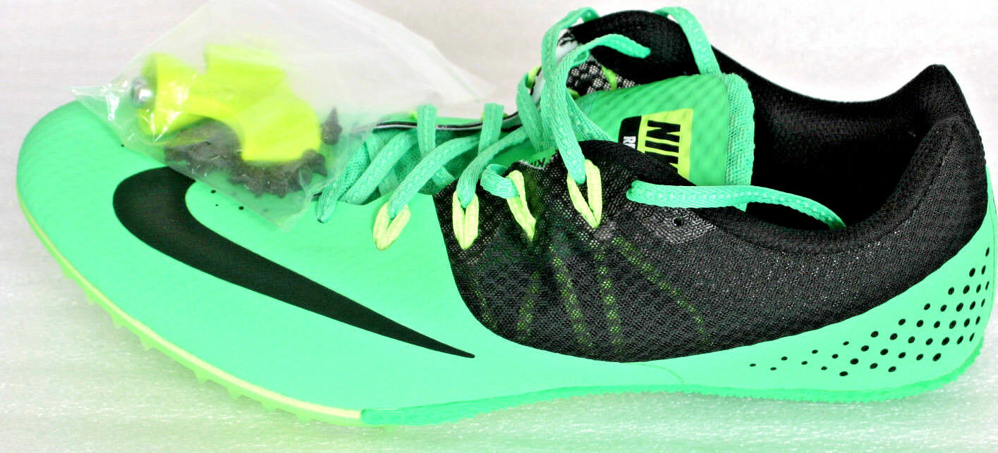 The latest discount shoes for men and women Nike Zoom Rival S 8 Track Sprint Spikes Shoes Green 806554-303 Mens Comfortable
