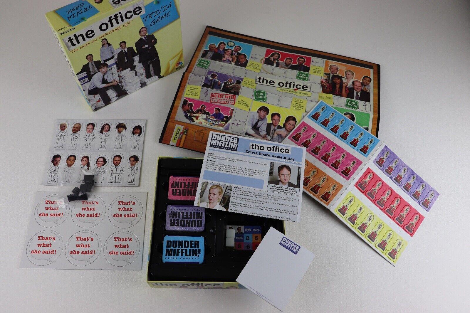 The Office Trivia tavola  gioco Pressuomo 2008 NBC TV mostrare 100% completare gituttio scatola  vendita online