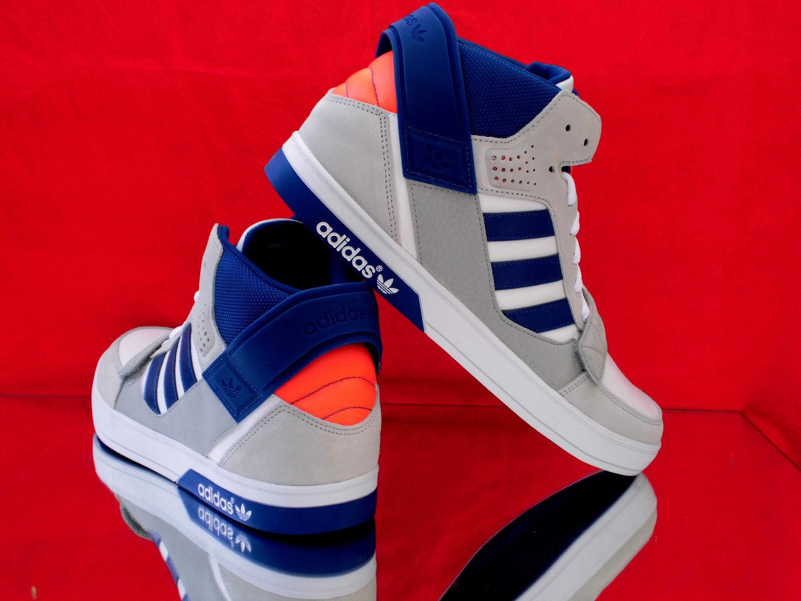 ADIDAS Originals Hardcourt Q22070 Defender Higt-Top Sneaker Weiß/grau/blau Q22070 Hardcourt Neu 9df496