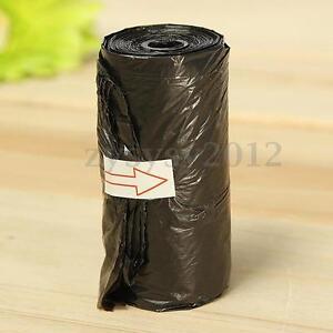 1-Roll-of-20-Plastic-Bags-Cat-Pet-Dog-Puppy-Poo-Waste-Poop-Clean-Pick-Up-Garbage
