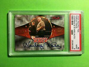 Harley-Race-2004-Pacific-TNA-Legends-amp-Stars-Autograph-PSA-9-Mint-Auto-WWE-HOF