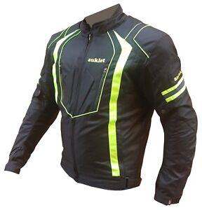 giacca moto tessuto uomo