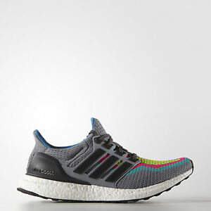 2d3aace18 ... Image is loading adidas-Ultra-Boost-2-0-Mens-Grey ...
