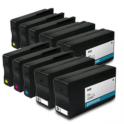 10PK HP 950 HP 951 Ink Cartridges for OfficeJet Pro 8600 8600 Plus 8610 Printers