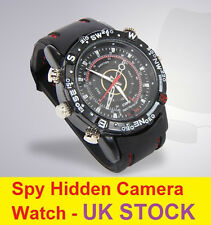 4GB HIDDEN SPY CAM WRIST WATCH Waterproof Mini Video Recorder Camera Webcam DVR