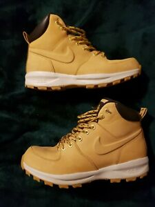 Details about Men's Nike ACG Tan & Brown Boots Size 9.5 Great Condition  Lightly Used Leather