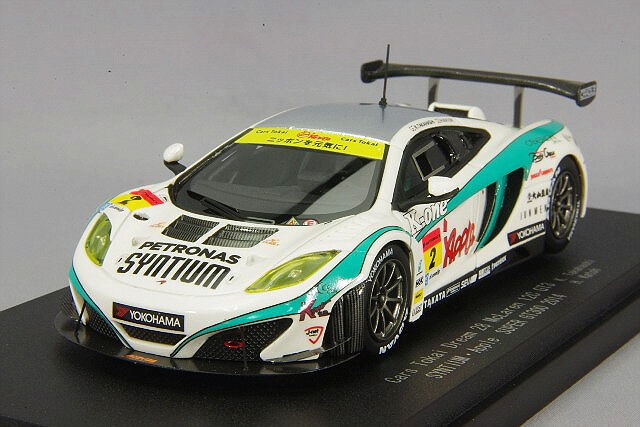 1/43 Ebbro McLaren shintiamu Apple MP4-12C 2018 Súper GT300  2 45247