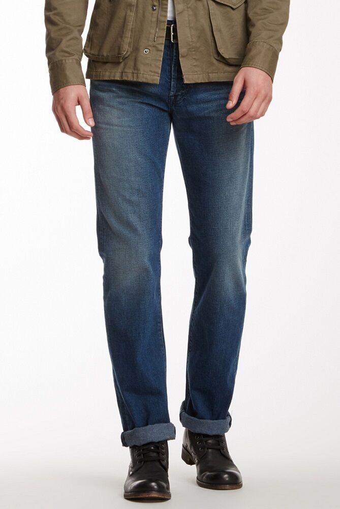 7 für Alle Herren Standard Klassisch Gerade Jeans Hergestellt in USA Neu 32