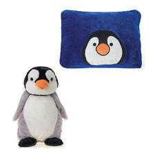 "Pillow 18"" Reversible Penguin Peek-A-Boo Plush Cuddle Travel Buddy Age 3+ New"