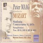 Mozart: Sinfonia Concertante; Symphonies Nos. 25 & 29 (CD, Jun-2004, Arts Music)