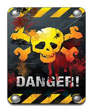 Warning Danger Mouse Mat - Fantasy/Goth